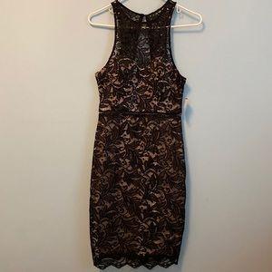 Black lace Windsor Dress